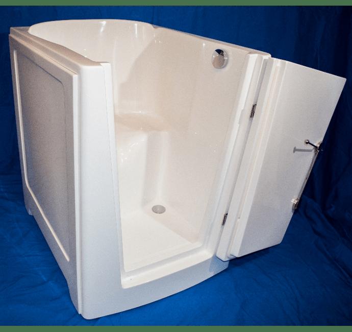 Wunderwanne - Sitzbadewanne und Badewanne mit Tür